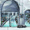Gare de charonne Paris ARCHI INT