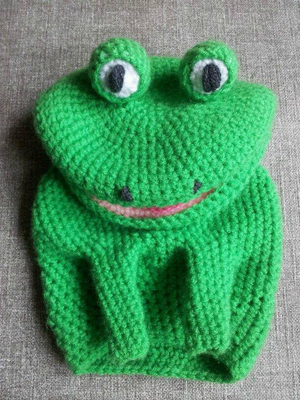 grenouille vert vif 1