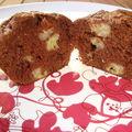 *** muffins chocolat bananes ***