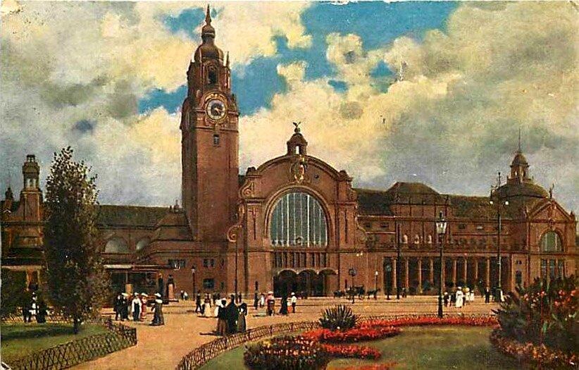The New Train Station, Wiesbadeno1_1280
