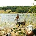 Lac de Savère - l'heure du bain