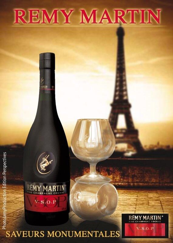 Publicité Remy Martin Edition Paris
