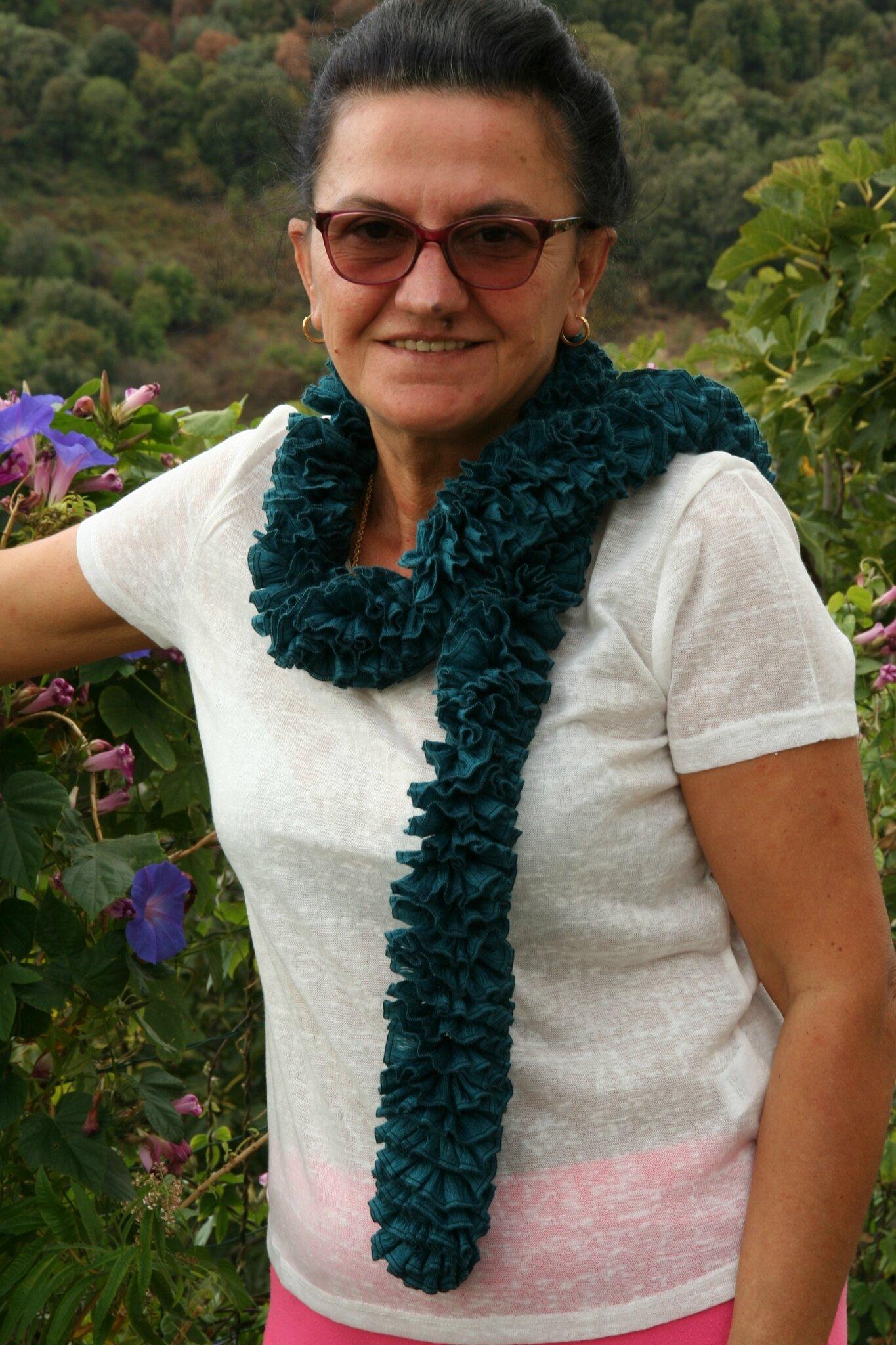 écharpes laines suite