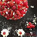 Pavlova aux fruits rouges du jardin