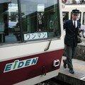 Fin de service, le conducteur sort du Eiden 721
