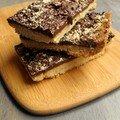 Gâteau au chocolat en plaque