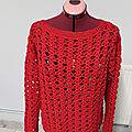 pull crochet en Cotton Gem de la marque <b>PERFORMANCE</b>