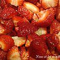 Glace a la fraise
