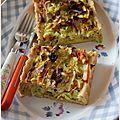 Pâte à tarte à la purée d'amande blanche #recette de base et en bonus, tarte poireaux, surimi, curry