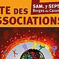 Forum des associations samedi 7 septembre 2013 brignoles