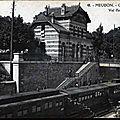 Gare de Meudon Val fleury