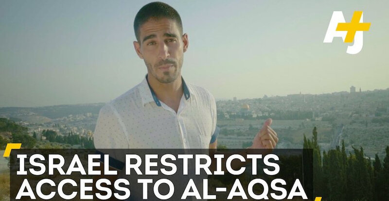 Ahmed-Shihab-Eldin-Al-Jazeera-video-Al-Aqsa-s-
