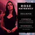Rose Hathaway Vampire Academy