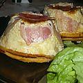 Tatins de pommes de terre au fromage