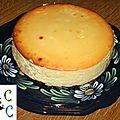 Cheesecake aux pommes et sirop d'erable