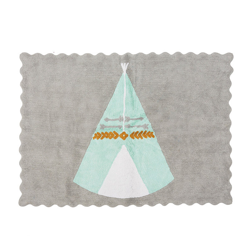 Tapis-Teepee-gris-menthe