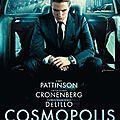 Affiche française et teaser de cosmopolis de david cronenberg avec robert pattinson