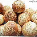 Mini hamburger buns !
