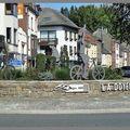 Rond-point à bastogne (belgique)