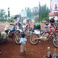 arivée des bikers à Snoul