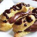 Daring bakers...chocolat éclairs by pierre hermé...éclair tout chocolat