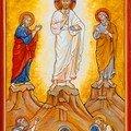 9- La Transfiguration de Jésus au Thabor