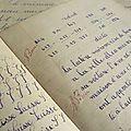 Cahiers d'écolier années 30
