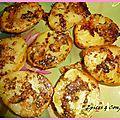 Pommes de terre gratinees et rougets panés ..