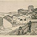 Bracquemond, Le bastion 84 (1870)