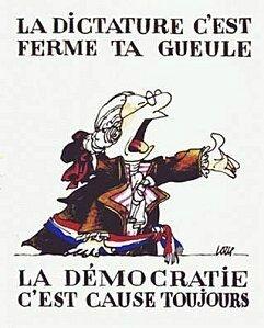 democratie dictature humour