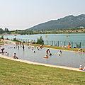 Plan d'eau de plantain Lac de Peyrolles