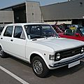 Fiat 128a berline 1973