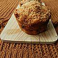 Muffins banane chocolat (coco)