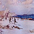 1915 - LES ALLIES DEBARQUENT SUR LES PLAGES TURQUES