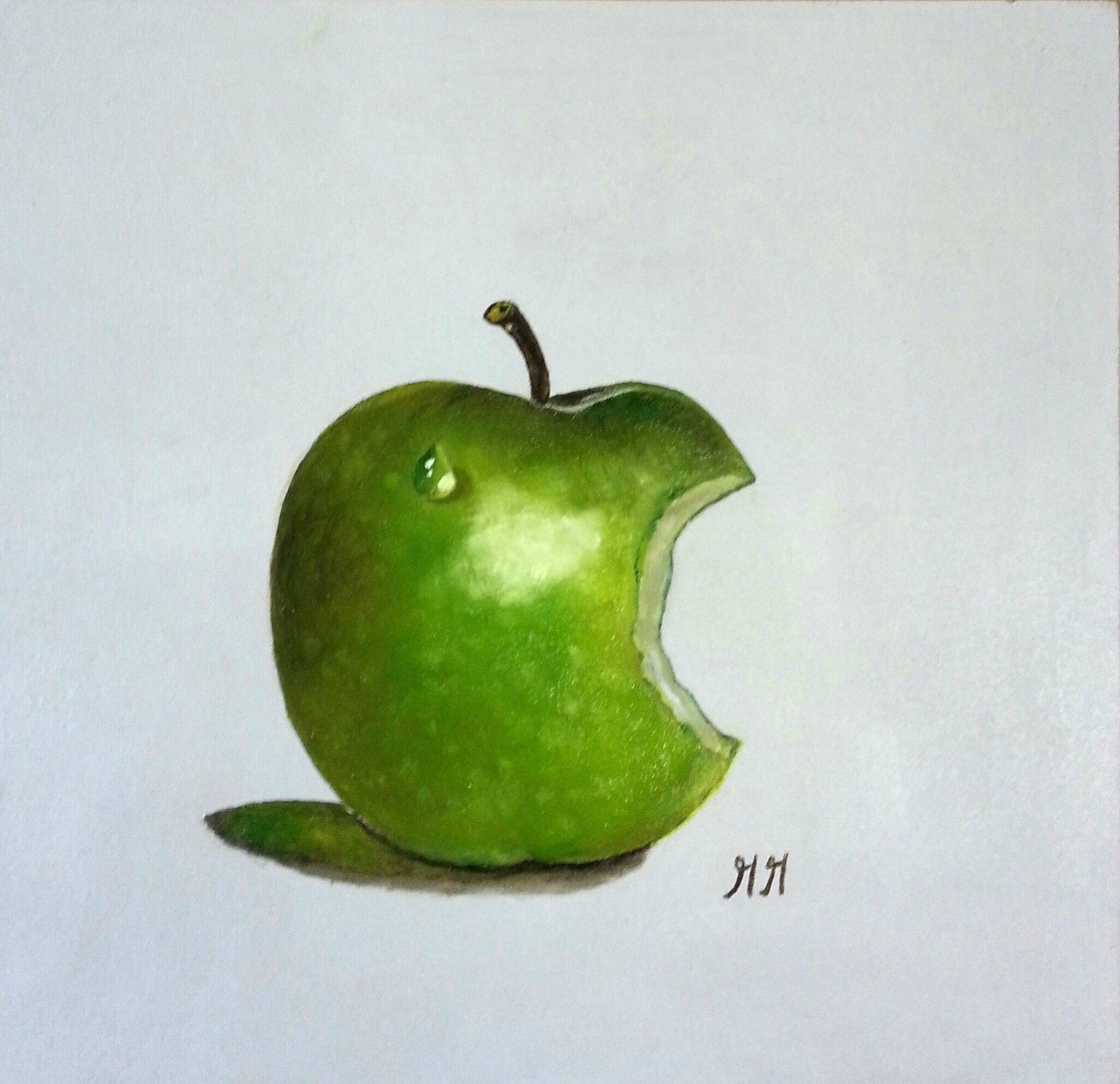 Crying apple