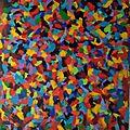 Peinture <b>acrylique</b> 72.5x100 cm