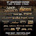 <b>ALCATRAZ</b> HARD ROCK & METAL FESTIVAL (Be) - 11/12/13-08-2017 - 10th Edition ! / 10ieme Edition !
