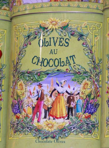 Carcassonne-olives au chocolat1