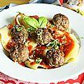 Boulettes de viandes épicés à l'italienne