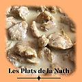 Les plats de la Nath