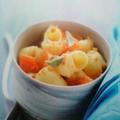 Pipe rigate aux carottes et à l'orange