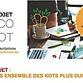 Rw i appel à projets ecokot : développons ensemble des kots plus durables