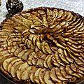 tarte fine caramélisée au <b>sirop</b> de <b>Liège</b>
