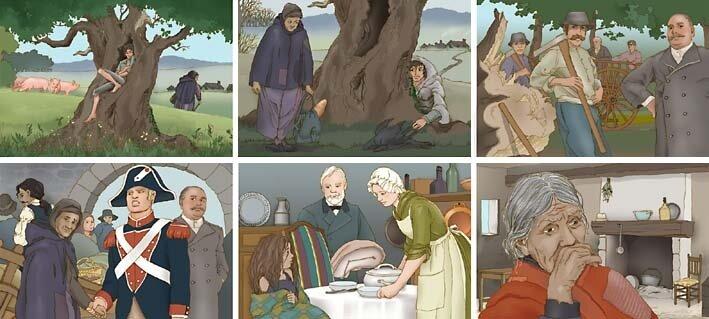 le chêne parlant de George Sand