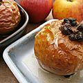 Pommes caramel aux fruits secs