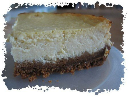 cheesecake au sirop d'érable