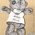 Gabarit ourson Tatty Teddy
