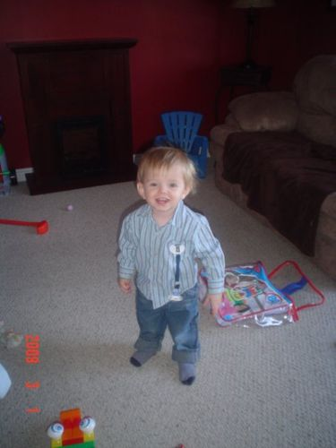 Jackson - 20 mois> Hydrocephale - 2 mois apres son intervention