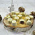 Chocolats blancs fourrés au praliné et tempérage du chocolat facile
