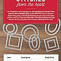 Pre-order & save: new stiched shapes framelits